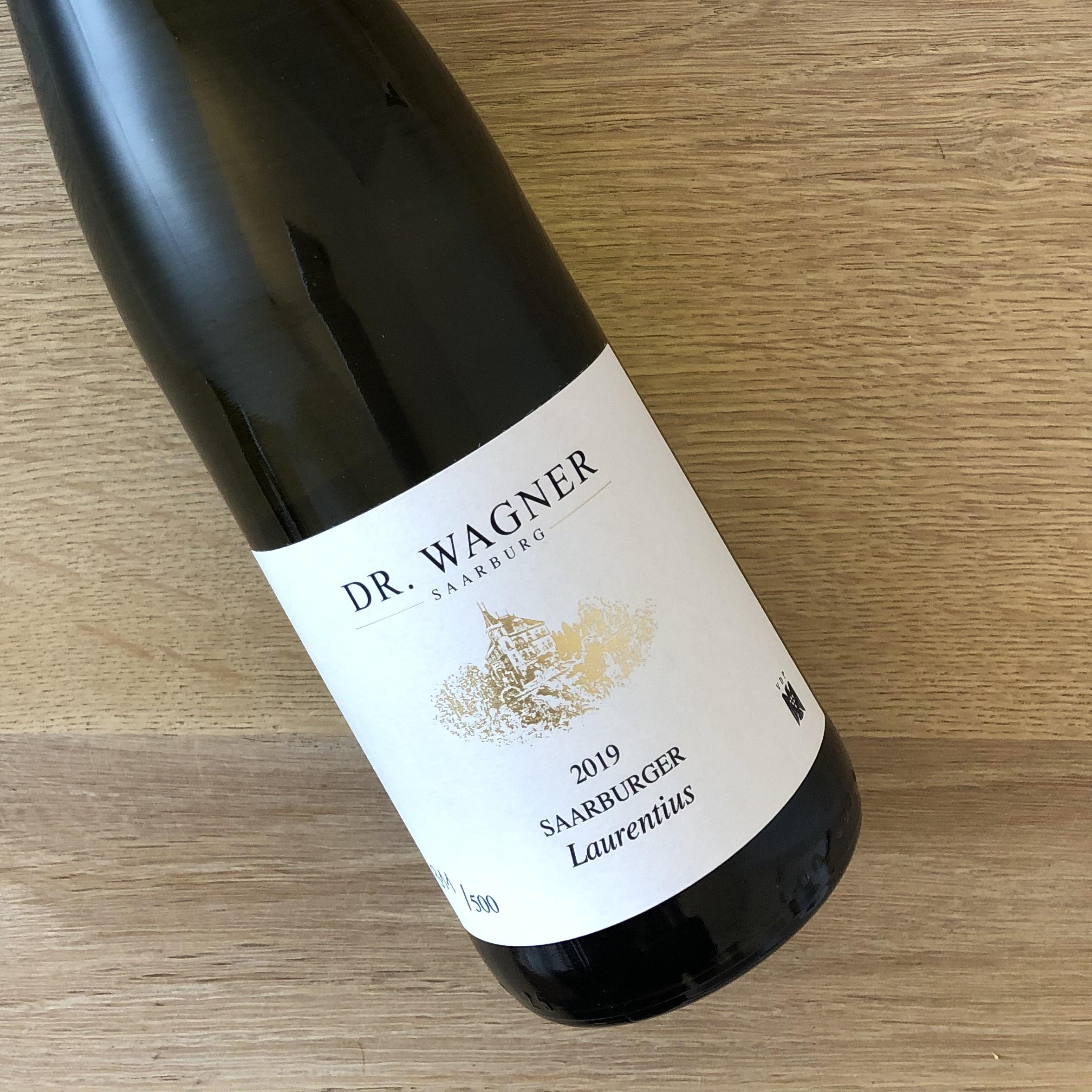 2019 Saarburger Laurentius Riesling TROCKEN - limitierte Auflage 500 Flaschen